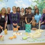 Fortbildung für Erzieherinnen zum Thema Arbeiten mit Holz in der Kita