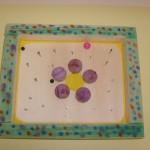 Bastelanleitung für Kinder Kinderspielzeug Geschicklichkeitsspiel Blume