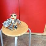 Marionette aus Holz Bastelidee für Kinder