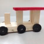 Lokomotive klein Bastelanleitung für Kinder