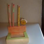 Zettelbox Bastelanleitung für Kinder Kisten Kästchen Boxen
