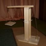 Wasser-Windrad-Lastenaufzug Bastelideen für Schulkinder aus Holz