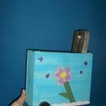 Koffer aus Holz Bastelidee für Kinder