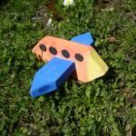 Flugzeug aus Holz Idee von Alber Monika