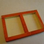 wie bauen Kinder einen Bilderrahmen aus Holz
