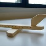 Flugzeug aus Holz Bastelanleitung für Kinder von Kathi Robens-Bellinghausen