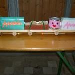 Lokomotive Kinder bauen mit Holz
