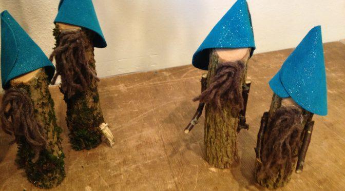 Waldwichtel: Kinder basteln mit Holz