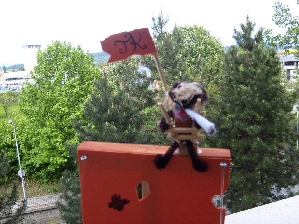 Kapitän für Piratenschiff Bastelidee für Kinder
