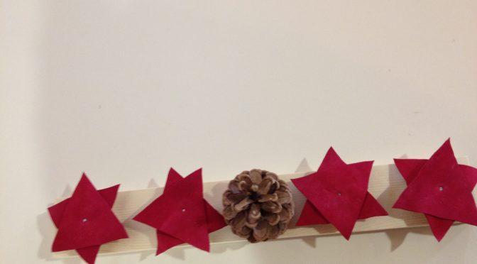 Kerzenständer Advent basteln mit Kindern