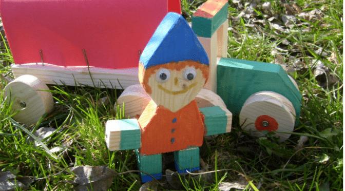 Basteln mit Kindern Holz