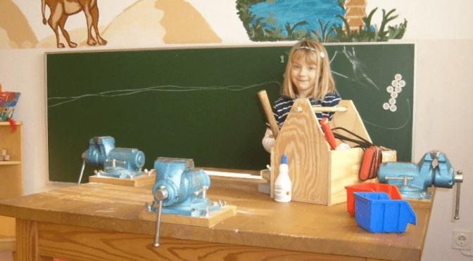 Holzwerkstatt einrichten