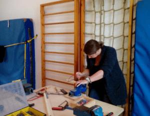 Inhousefortbildung Holzwerkstatt