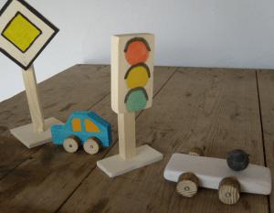 Verkehrszeichen basteln