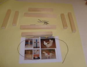 Material Bilderrahmen Bastelidee Kindergartenkinder